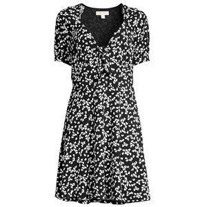 Michael Kors Petal Matte Jersey Dress Size XLarge